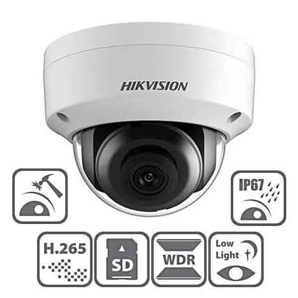 Camera IP bán cầu mini 2MP Chuẩn H.265+DS-2CD2125FWD-I hiện đại