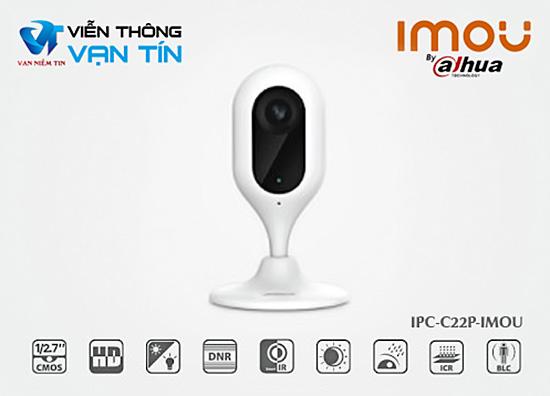 Thông Tin Kỹ Thuật Camera IP Wifi IMOU IPC-C12P-IMOU 2.0 megapixel