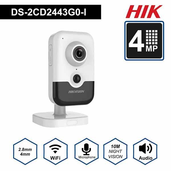 Camera IP Cube mini 4MP Hikvision DS-2CD2443G0-IW
