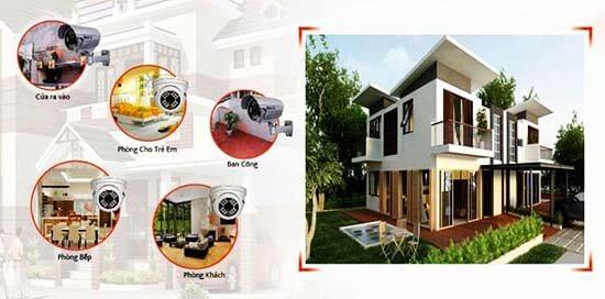 Tùy từng vị trí mà ta nên chọn lắp đặt loại camera giám sát khác nhau