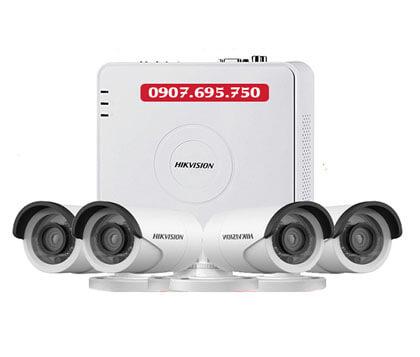 Trọn Bộ 4 Camera Hikvision 2.0M Full HD 1080P