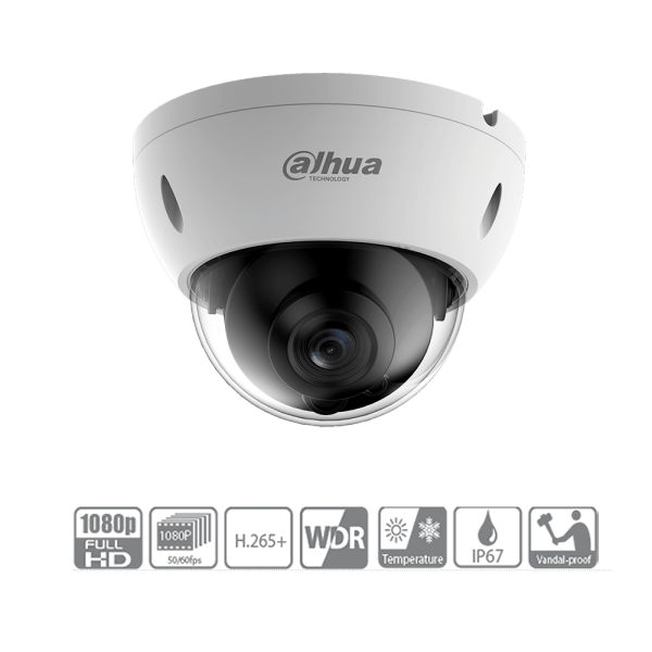 Camera IP Dome Full Color Starlight Dahua IPC-HDBW4239RP-ASE