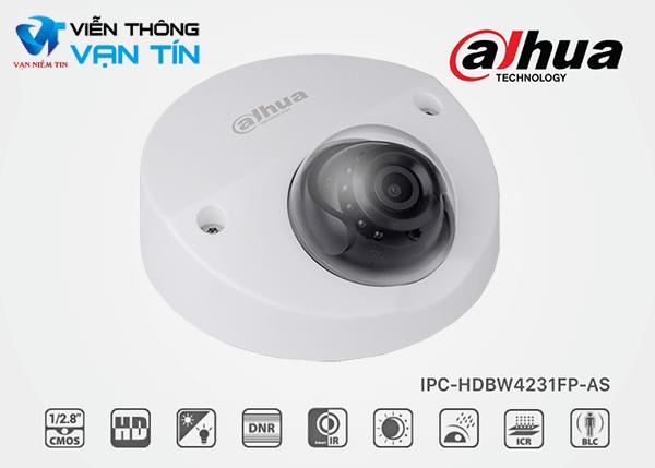 Camera IP Dome 2.0MP Starlight Dahua IPC-HDBW4231FP-AS