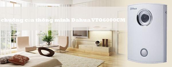 Camera chuông cửa IP không dây Dahua VTO6000CM