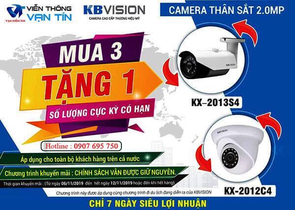 Khuyến Mãi Sốc Tháng 11 Cùng KBVISION Mua 3 Cam Tặng 1 Cam Ngon