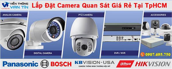Tư vấn lắp đặt camera quan sát giá rẻ tại TpHCM