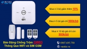 Khuyến mãi HOT giảm giá ngay khi mua bộ báo động không dây GW03