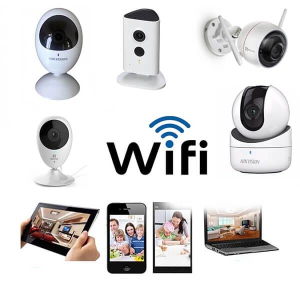 Lắp đặt camera wifi, người dùngthể quan sát mọi lúc mọi nơi trên điện thoại, máy tính...