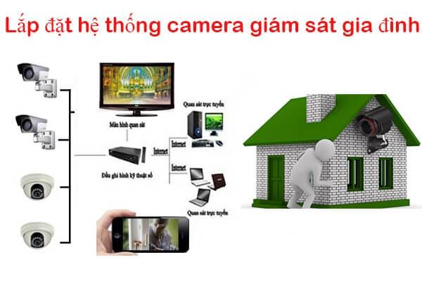 Lắp đặt hệ thống camera giám sát gia đình cần biết những gì?