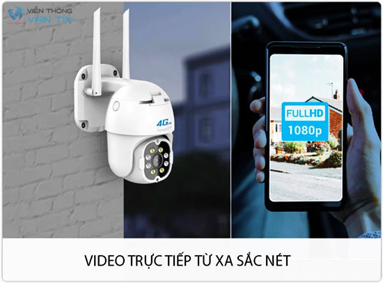 Camera 4G Ngoài Trời 2.0 Megapixel SmartZ IS11 Quan Sát Sắc Nét
