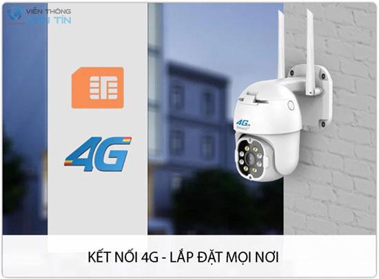 Camera SmartZ IS11 Kết Nối 4G Tiện Dụng