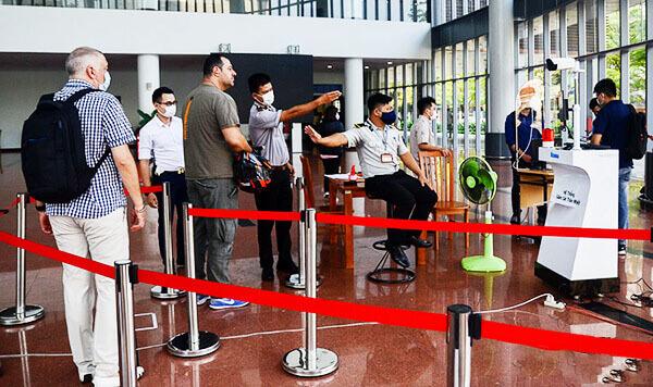 Camera Dahua TPC-BF5421P-T được lắp đặt tại rung tâm hành chính Đà Nẵng