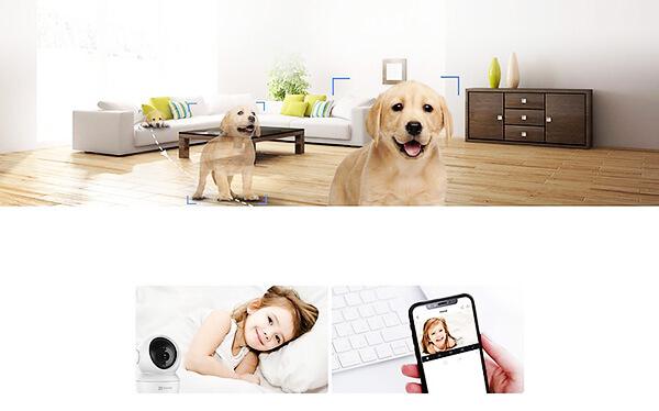 Camera Ip Wifi thông minh, hỗ trợ người dùng giao tiếp bất cứ lúc nào