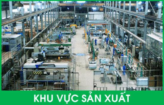 Lắp camera cho nhà xưởng khu vực sản xuất