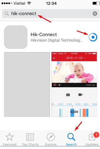 Hướng Dẫn Tải Và Cài Đặt Phần Mềm HIK-CONNECT Xem Camera Hikvision Trên Di Động