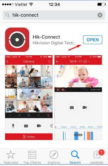 Hướng Dẫn Tải Và Cài Đặt Phần Mềm HIK-CONNECT Xem Camera Hikvision Trên Điện thoại
