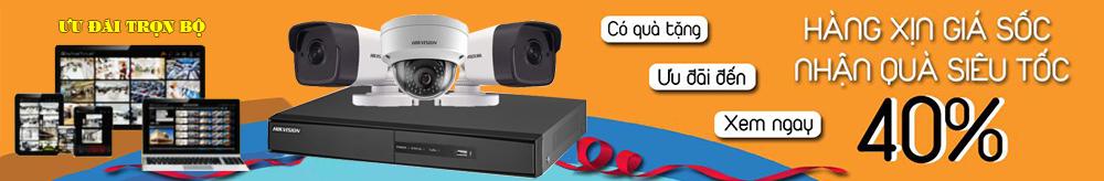 Lắp đặt trọn bộ camera có dây giá rẻ