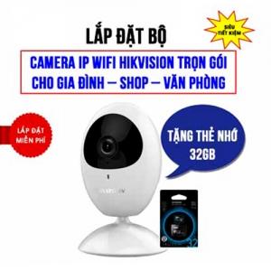 Camera Wifi cho gia đình Hikvision HKI-2U01EFD-IW