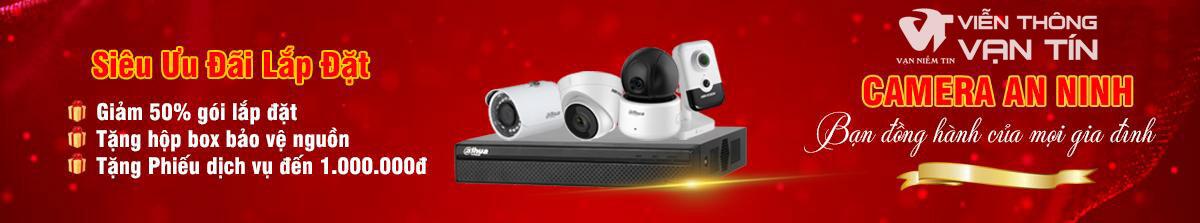 Dịch vụ lắp đặt và bảo trì camera tại Viễn Thông Vạn Tín