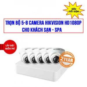 Trọn Bộ 5-8 Camera Hikvision 2.0 Megapixel Full HD 1080P