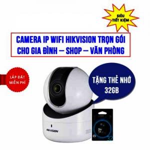 Trọn Bộ Camera IP Wifi Hikvision HKI-2Q01EFD-IW