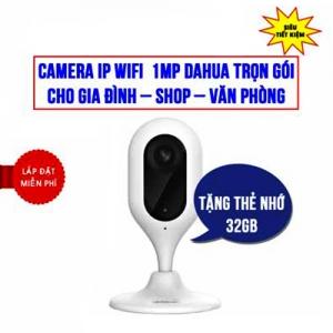 Trọn Bộ Camera IP Wifi 1.0MP Dahua DHI-C12P Giá Rẻ
