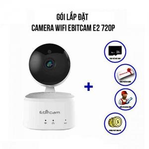 Trọn Bộ Camera IP Wifi 1.0 Megapixel Ebitcam E2