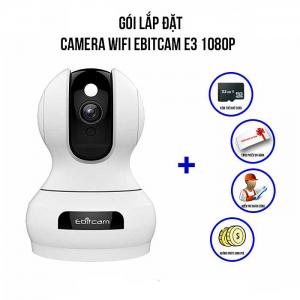 Trọn Bộ Camera IP Wifi Full 1080P Ebitcam E3