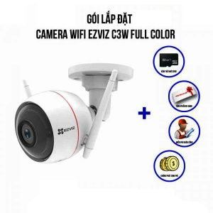 Trọn Bộ Camera IP Wifi Full Color EZVIZ C3W 1080P