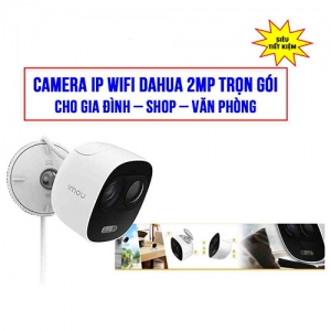 Trọn Gói Lắp Đặt Camera Wifi LOOC C26EP Full HD 1080P