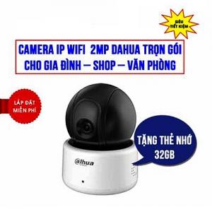 Trọn Bộ Camera Wifi 2.0MP Dahua DHI-A22P Giá Rẻ