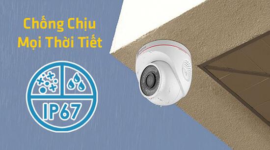 Ezviz C4W CS-CV228 Camera Wi-Fi thông minh ngoài trời