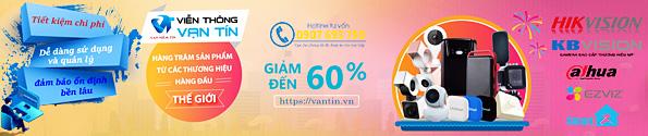 Sale 60% trọn bộ camera giám sát thương hiệu nổi tiếng