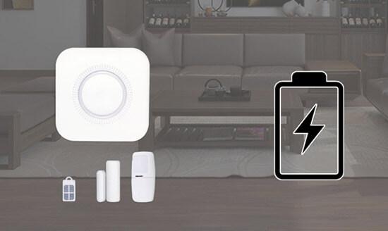 Bộ Báo Động Chống Trộm Thông Minh Qua Wifi SmartZ I5 Pin Khỏe