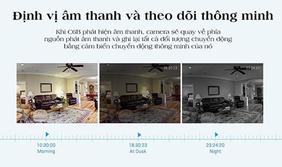 EZVIZ C6B CS-CV240-B0-21WFR Xem mọi chi tiết với Real-Time HD Video