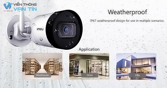 Dahua IPC-G42P-IMOU chống nước hoàn hảo