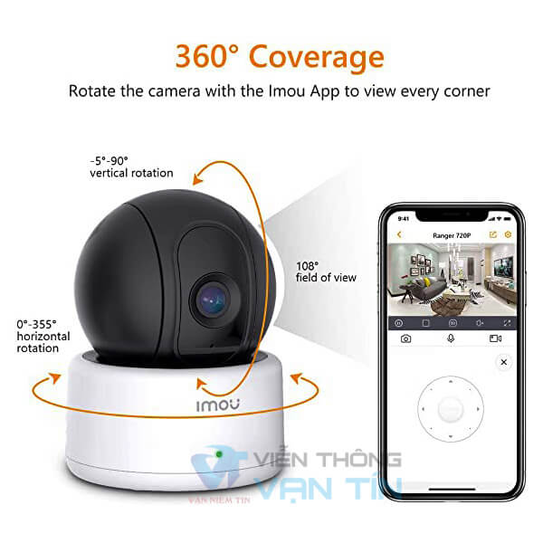 Camera IP Wifi Xoay Dahua Cue2 Full HD 1080P IMOU IPC-C22EP-IMOU