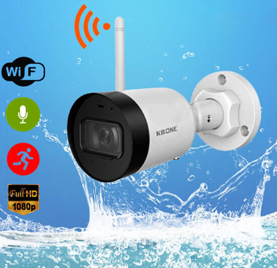 Camera IP Wifi 2.0 Megapixel KBVISION KBONE KN-2001WN chống nước hoàn hảo
