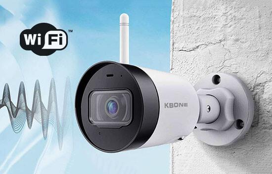 Camera IP Wifi 2.0 Megapixel KBVISION KBONE KN-2001WN tích hợp ăng-ten phát sóng