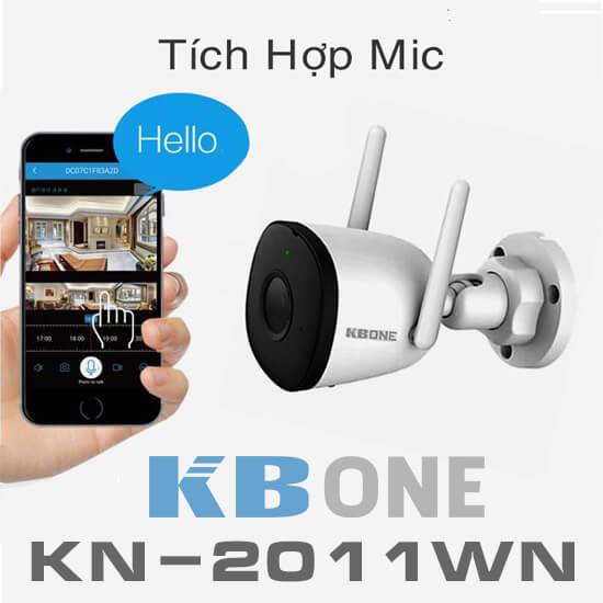 KBVISION KBONE KN-2011WN tích hợp MIC