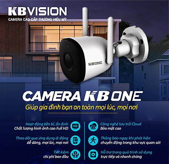Camera KBVISION KBONE KN-2011WN tính năng hiện đại