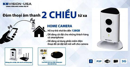 Camera Kbvision KX-H13WN đàm thoại 2 chiều