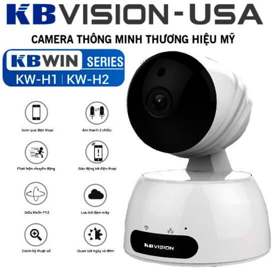 Camera IP Wifi 2.0 Megapixel KBWIN KW-H2 tính năng hiện đại