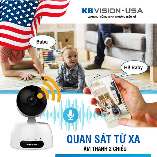 KBWIN KW-H2 đàm thoại 2 chiều