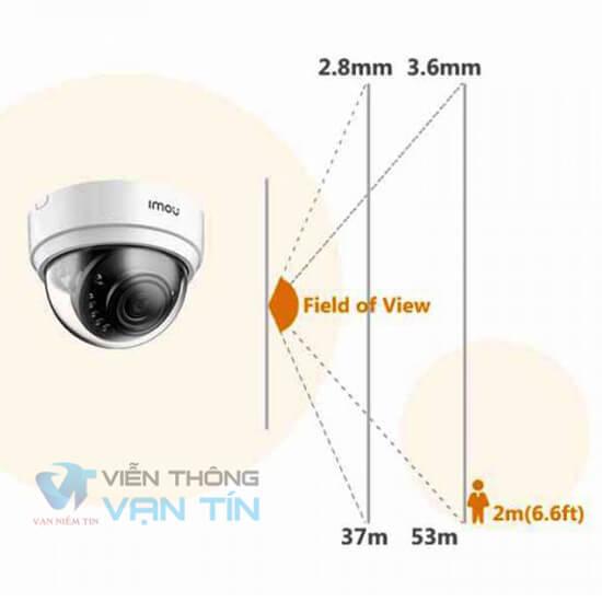 Camera ip wifi Dome IPC-D22P-IMOU quay sát góc rộng