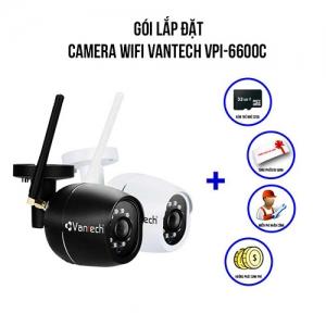 Lắp Đặt Camera Wifi Vantech VPI-6600C