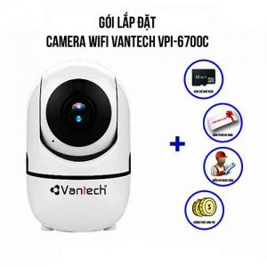 Lắp Đặt Camera Wifi Vantech VPI-6700C