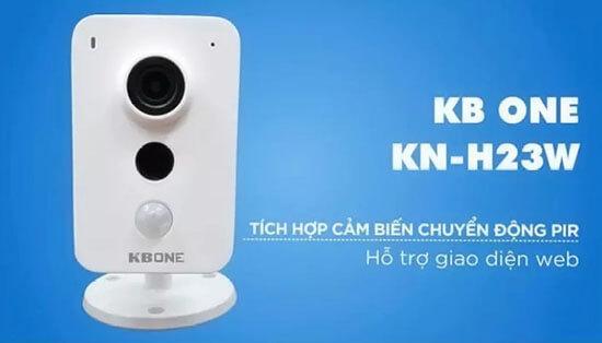 Camera IP Wifi Kbone KN-H23W 1080P