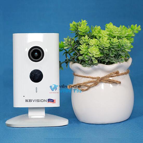 Review Camera Smart IP 1.3 Megapixel F2.3mm Kbvision KX-H13WN