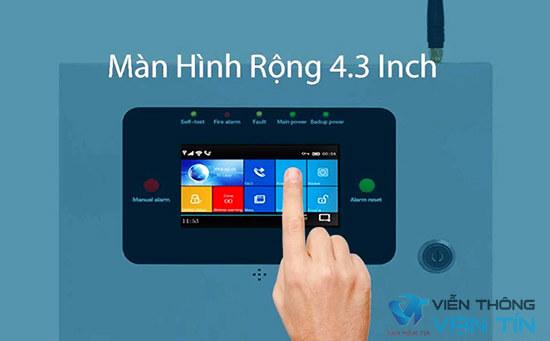 SmartZ GW89 trang bị màn hình màu cảm ứng